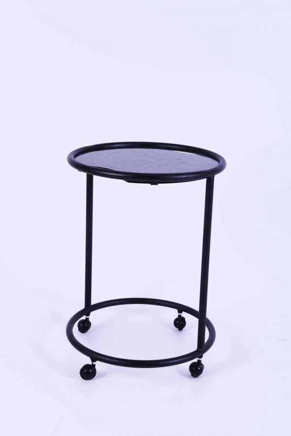 Valet Table with inserted handles