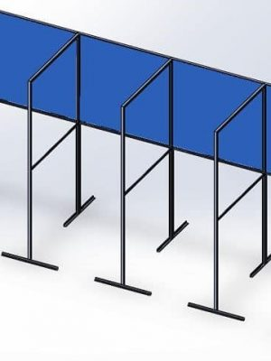 Booth Style Barrier