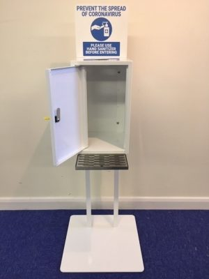 Large Hand Sanitiser Unit