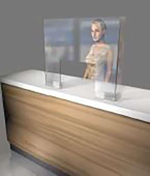 Small Counter Top Screen