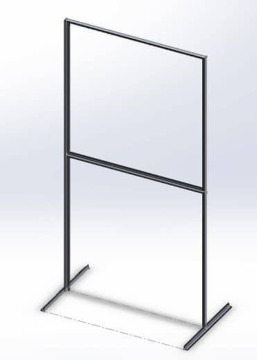 Single Screen Barrier