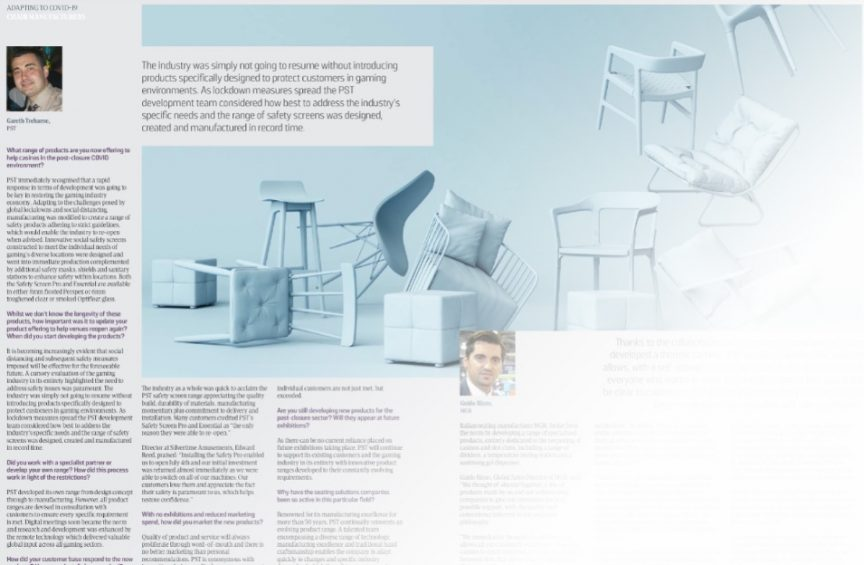 PST News Image for G3 Magazine, Sept