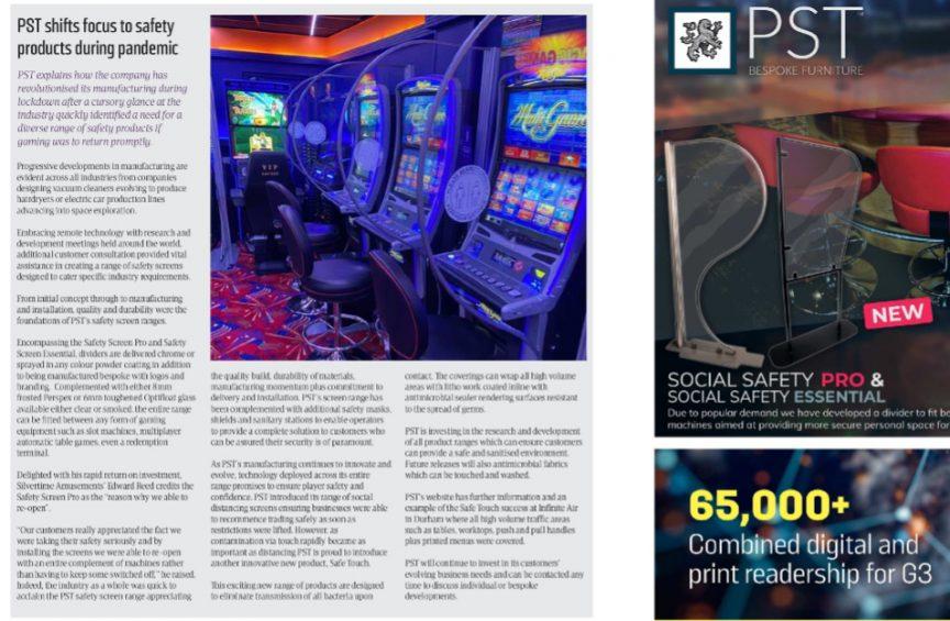 PST News Image for G3 Magazine, Feb