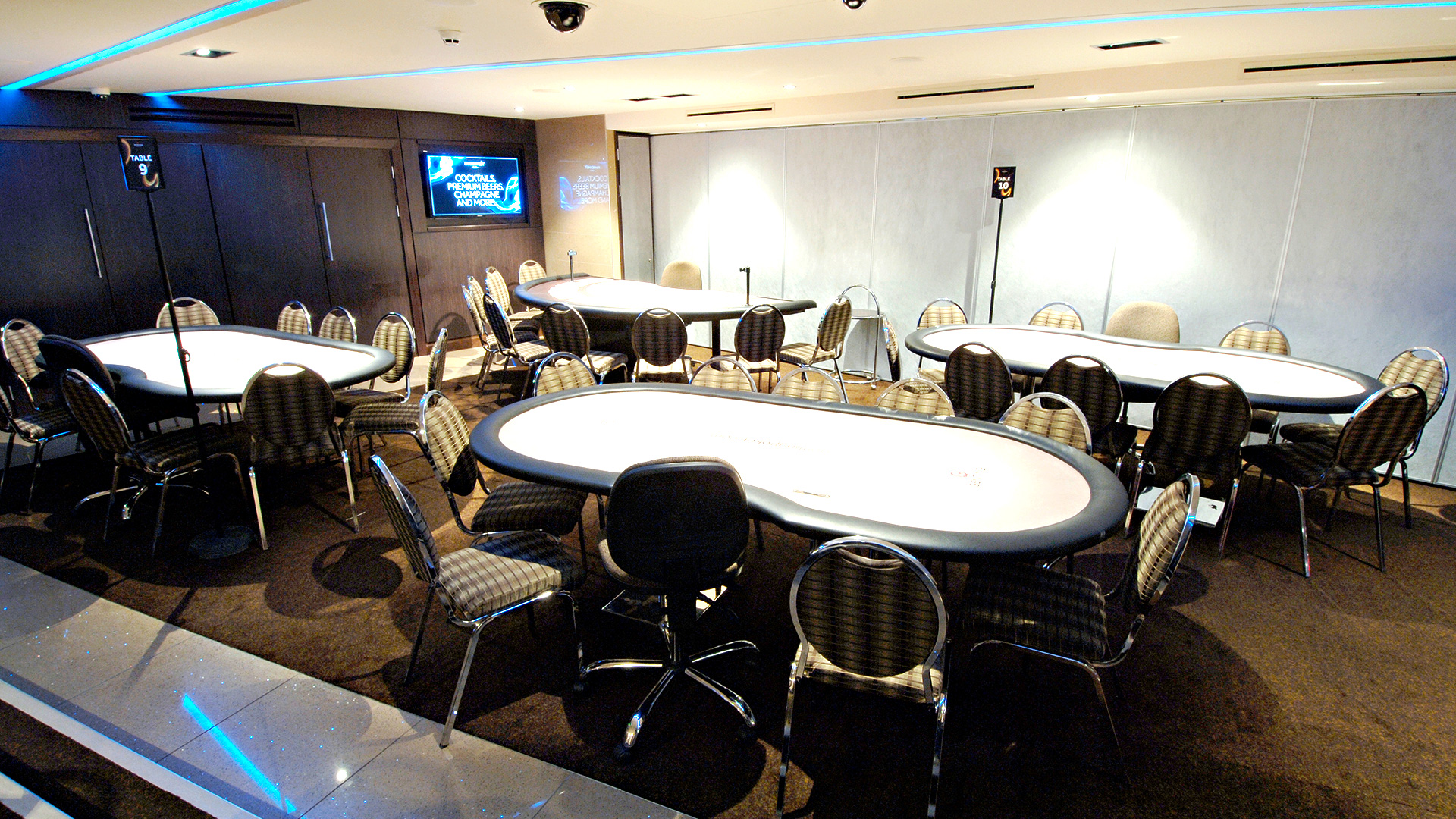 Tournament Poker Tables